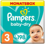 OTTO'S Pampers Baby-Dry t. 3, conf. mensile, 198 pannolini -