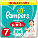 OTTO'S Pampers t. 7 Baby Dry Pants extra large plus 17 kg conf. mensile 104 pezzi -
