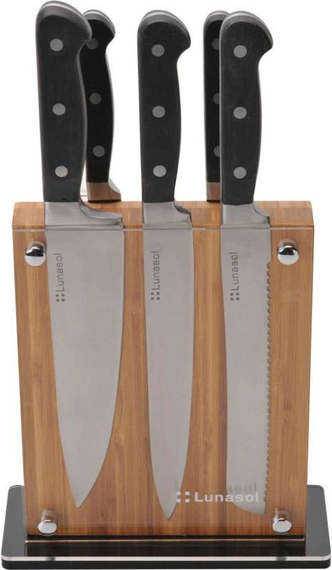 Blocco portacoltelli con coltelli Sola Profi-Line, 6 elementi -