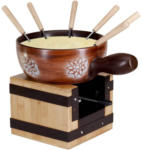 OTTO'S Nouvel Service à fondue au fromage, sucre en poudre, 9 pièces -