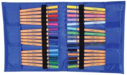 Stabilo Fasermaler point 88, 30 Stück Notizbuch Etui -