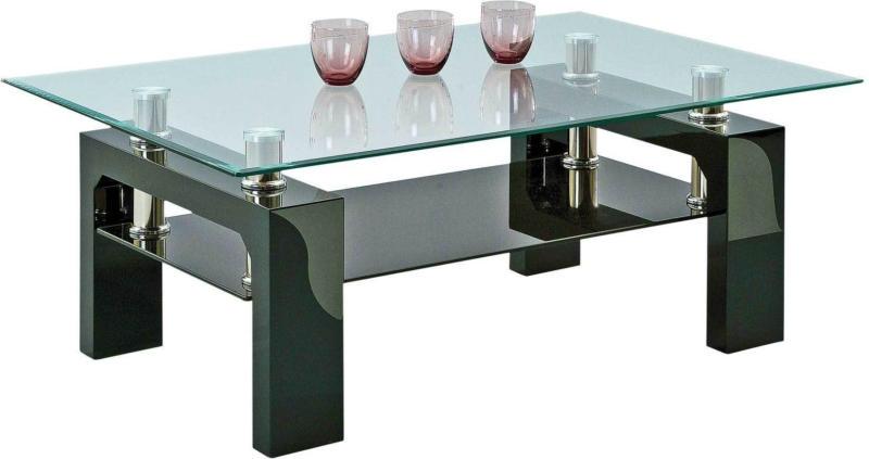 Table basse Silvia II, noir -