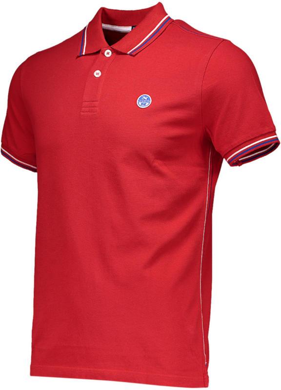 Herren-Poloshirt North Sails Streifen -
