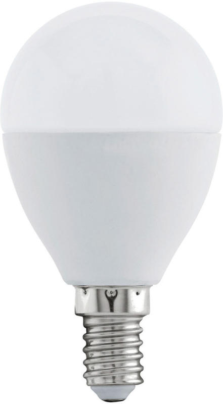 LED Ampoule plastique blanc RBG E14 -