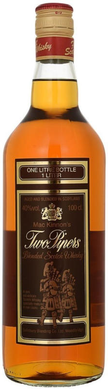 Whisky Two Pipers 1 Liter -