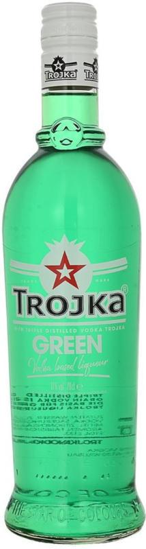 Trojka Green Vodka Likör 70cl -