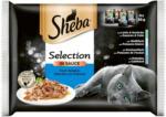 OTTO'S Sheba Sélection en Sauce aux Poissons 4 x 85 g -