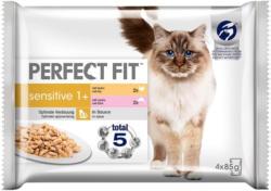 Perfect Fit 1+ Huhn & Lachs 4 x 85 g -