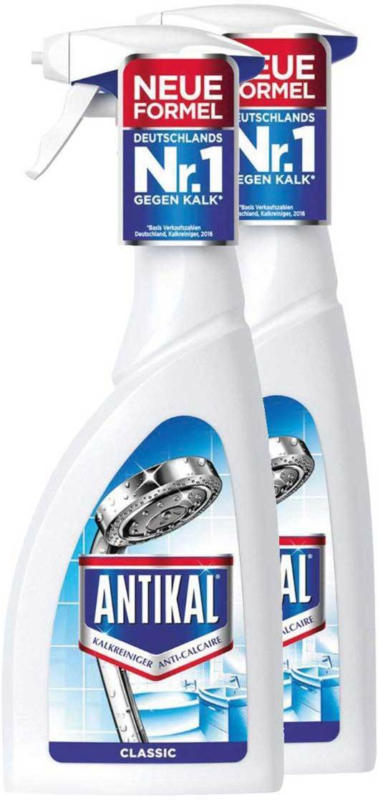 Antikal Spray Anti-Calcaire Classic 2 x 750 ml -