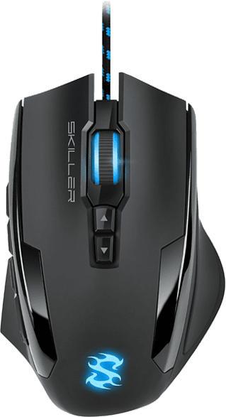 Gaming Maus Skiller SGM1, kabelgebunden, schwarz