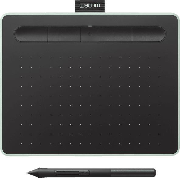 Grafiktablett Intuos Größe S Comfort mit Bluetooth, schwarz/grün (CTL-4100WLE-N)