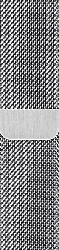 APPLE 40 mm Milanaise Armband, Ersatzarmband, Apple, Watch Modelle 38 mm und 40 mm, Silber