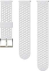 ATHLETIC 1 20MM WHITE/ GOLD S3 SILICONE STRAP