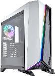 Saturn PC-Gehäuse Carbide Series SPEC-OMEGA RGB, weiß-schwarz, Glasfenster (CC-9011141-WW)