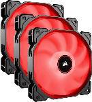 Saturn Lüfter Air Series LED Red AF120, 120 mm, 3er-Pack (CO-9050083-WW)