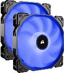 Saturn Lüfter Air Series LED Blue AF140, 140mm, 2er-Pack (CO-9050090-WW)