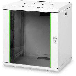Serverschrank SoHo-Line 12HE, Grau, Wandmontage (DN-19 12-U)