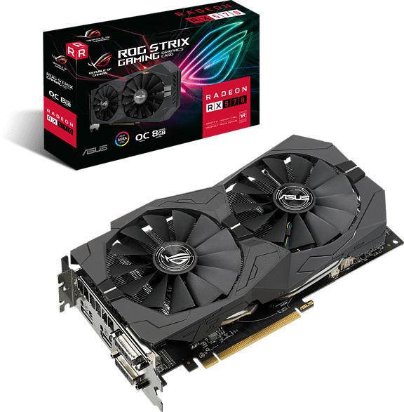 Grafikkarte ROG Strix Radeon RX 570-O8G-GAMING (90YV0AJ8-M0NA00)