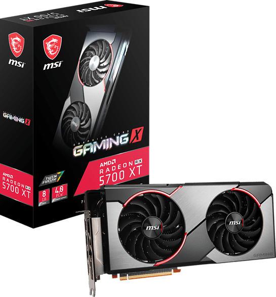 MSI Radeon™ RX 5700 XT Gaming X 8GB (V381-032R) (AMD, Grafikkarte)