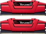 Saturn Arbeitsspeicher RipJaws V rot DIMM Kit 16GB, DDR4-3600, CL19-20-20-40 (F4-3600C19D-16GVRB)