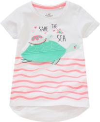 Mädchen T-Shirt mit Schildkröten-Print