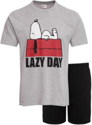 Snoopy Herren Shorty mit großem Print