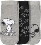Ernsting's family 3 Paar Snoopy Herren Sneaker-Socken im Set