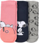 Ernsting's family 3 Paar Snoopy Sneaker-Socken im Set