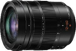 PANASONIC H-ES12060 Lumix G LEICA 12 mm-60 mm f/2.8-4 DG, ASPH (Objektiv für Micro-Four-Thirds, Schwarz)