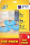 Media Markt CD Etikett InkjetLaserKopierer Ø117 auf A4 rund SuperSize (L7676A-40P)