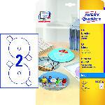 Media Markt CD-Etiketten SuperSize, Ø 117 mm, 25 Bogen/50 Etikett (J8676-25)