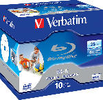 MediaMarkt BD-R SL 25GB* 6x Printable 10 Pack Jewel Case