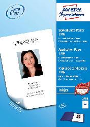 Inkjet Bewerbungspapier, DIN A4, beidseitig beschichtet, 100 g/m², 200 Blatt (2788)