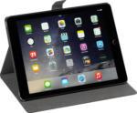 Saturn Folio Case für Apple iPad (2018), (2017) mit Sleep-Wakeup-Funktion, schwarz