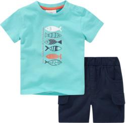 Baby T-Shirt und Cargoshorts im Set