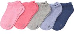 5 Paar Mädchen Sneaker-Socken im Set