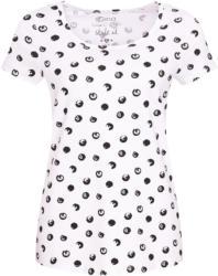 Damen T-Shirt mit Punkte-Allover