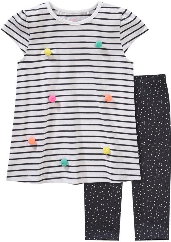 Mädchen T-Shirt und Capri-Leggings im Set