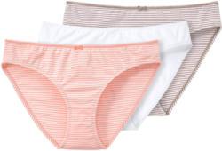 3 Damen Slips mit Pikotkante (Nur online)