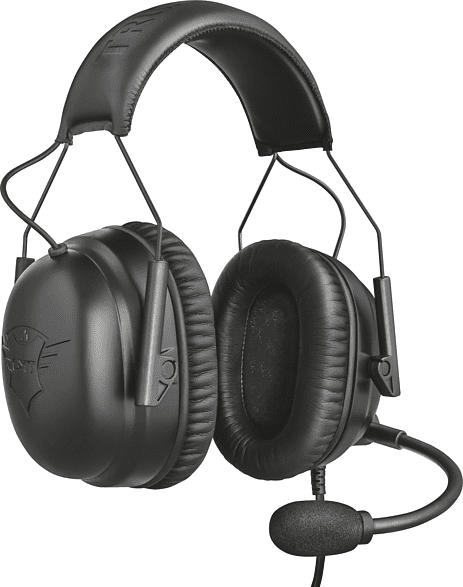 TRUST GXT 444 Wayman Pro e-Sports Gaming-Headset Schwarz