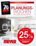 Küchen Meyer GmbH Herstellerplanungswochen im Jubiläumsjahr! - bis 30.05.2020