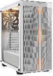 Saturn PC Gehäuse Pure Base 500DX weiß, Glasfenster, schallgedämmt (BGW38)