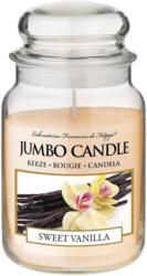 Jumbo Candle Duftkerze Sweet Vanilla -