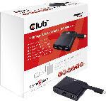 Media Markt Adapter SenseVision USB Type-C auf Ethernet + USB 3.0+USB Type-C Charging Mini Dock(CSV-1530)