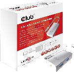 Saturn USB 3.0 Type-C auf 4x USB Type-A Hub, weiß (CSV-1541)