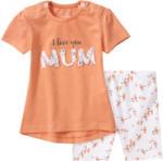 Ernsting's family Newborn T-Shirt und Radler im Set