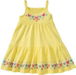 Mädchen Kleid mit Bordüren-Druck