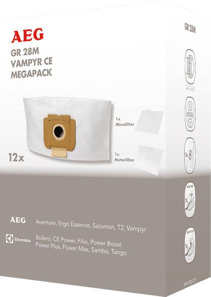 Staubsaugerbeutel GR 28M Megapack