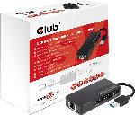 MediaMarkt USB 3.0 3-Port Hub mit Gigabit Ethernet
