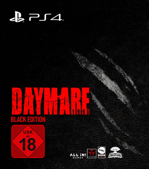 PS4 DAYMARE 1998 (BLACK EDITION) [PlayStation 4]
